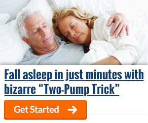 Fall asleep in just minutes with bizarre Two-Pump Trick