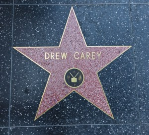 Drew Carey Star Walk of Fame Hollywood