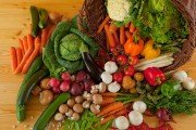carrots, cabbage, salad and other fresh healthiest vegetables you can get your hands on