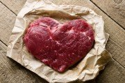 Lean cut of heart health meat as part of the Paleo diet
