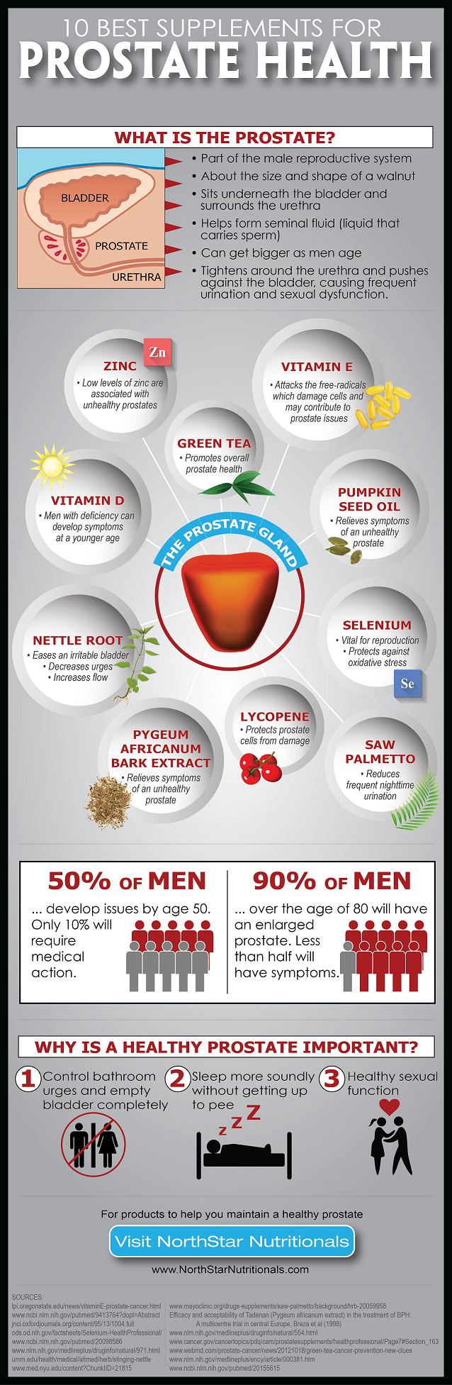 Prostate infographic