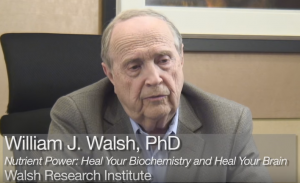William J Walsh PhD screenshot from ADHD interview