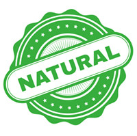 "Green ""natural'"" stamp"