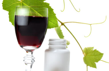 Resveratrol is a powerful antioxidant derived from grapes.