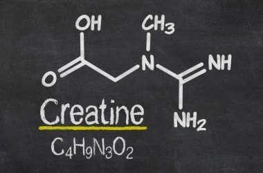 Creatine chemical fomula on blackboard but is creatine safe