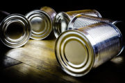 food cans lined with bisphenol A or bisphenol S