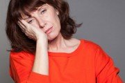Mature woman feeling achy and fatigued and tired all the time