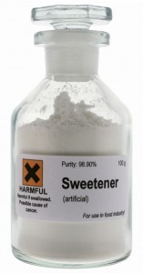 artificial sweetener succralose bottle