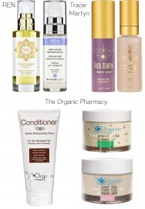 Tracie Martyn and The Organic Pharmacy natural beauty products