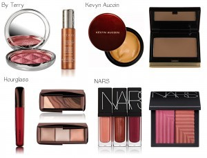 By Terry and Kevyn Aucoin and Hourglass and NARS natural beauty products