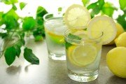 Lemon water for lemon water detox
