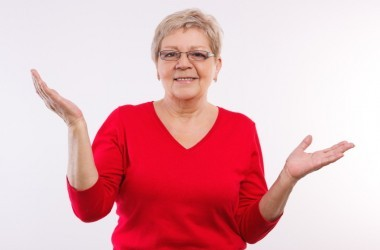 Senior woman confused about estrogen therapy after menopause