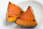 HHealthy pumpkin chunks roasted golden brown are among foods to fight cancer