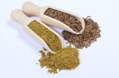 Scoops of ground cumin and cumin seeds diabetes super spices help manage blood sugar