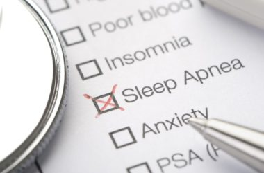 Sleep apnea medical record chart