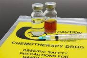 Two vials of chemotherapy drugs which could have serious side effects