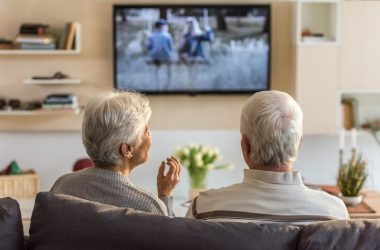 Senior couple watching TV could be raising their cognitive decline risk