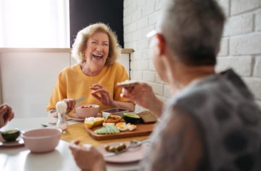 Senior women eating low carb to fight cognitive impairment