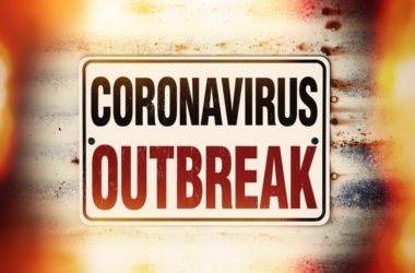 Coronavirus outbreak sign