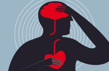 Illustration of the connection between cognition and heart health
