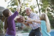 Active senior takes OsteoCell and plays basketball with granddaughters