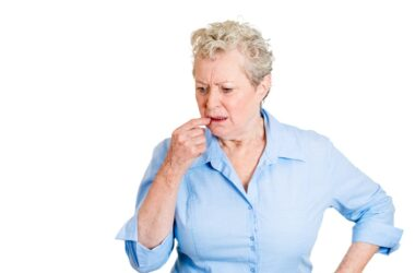 Woman having memory problems after COVID-19 infection