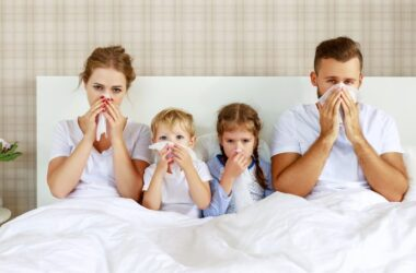 Whole family sick in bed with cold or flu didn't take ashwagandha